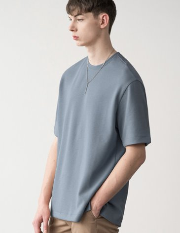 ESSENTIAL BASIC T-SHIRTS [SKY BLUE]