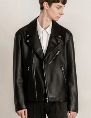 19F/W OFFICIAL LEATHER RIDER JACKET