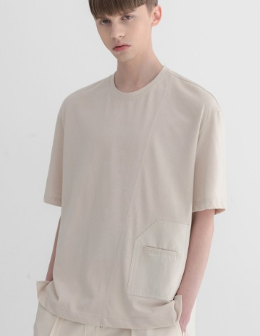 TECHNICAL LAYER T-SHIRTS [CREAM]