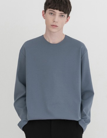 VENT LAYERED T-SHIRT [INDI BLUE]
