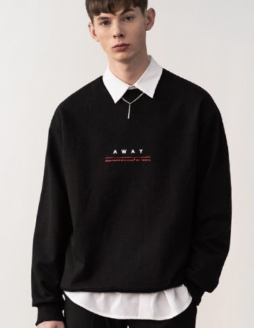 AWAY SWEATSHIRT [BLACK]