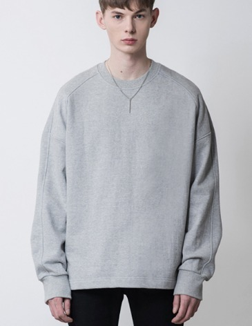 [RE-EDITION] ESSENTIAL SWEATSHIRT [M.GREY]