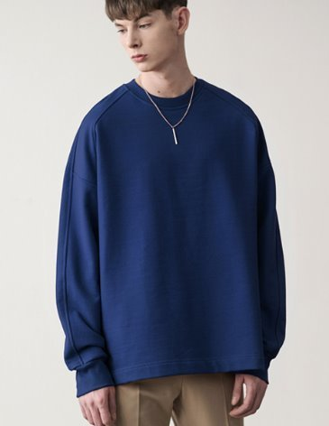 [RE-EDITION] ESSENTIAL SWEATSHIRT [BLUE]