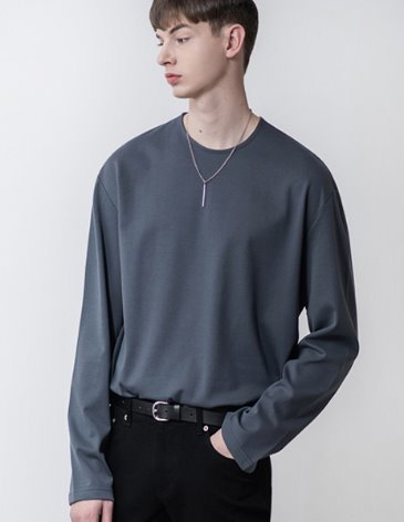 19SS VENT LAYERED T-SHIRT [CHARCOAL]