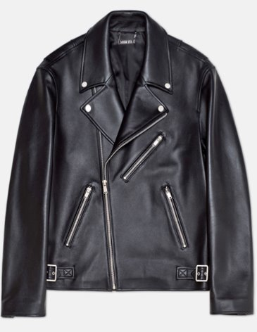 OFFICIAL LEATHER RIDER JACKET