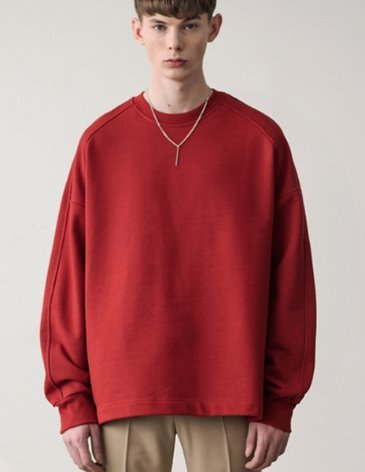 [RE-EDITION] ESSENTIAL SWEATSHIRT [RED]