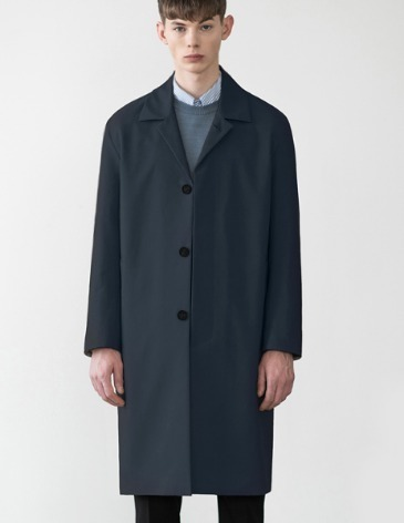 SOLID HIGH COTTON SINGLE COAT [D.NAVY]