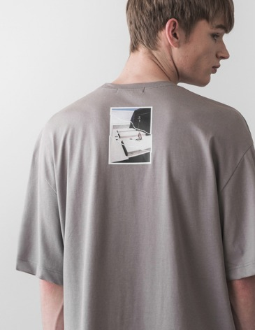 LATE T-SHIRT [GREY]