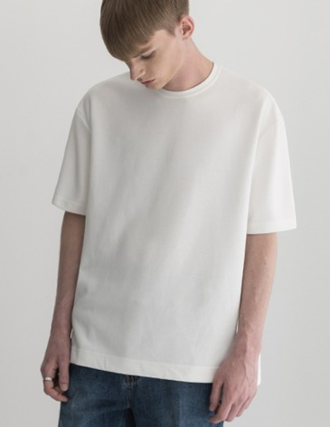 ESSENTIAL BASIC T-SHIRTS [WHITE]