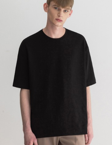 ESSENTIAL BASIC T-SHIRTS [BLACK]